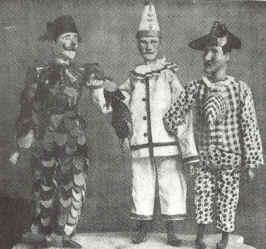 """Loewie, Pierke en Karelke van """"het Spelleke van de Muide"""""""