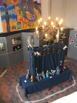 """Een""""luchtfoto"""" van de tentoonstelling over Nele in augustus 2009"""