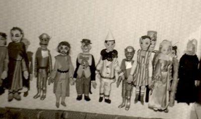 Enkele poppen in de jaren '60