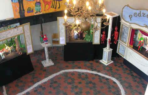 Een algemeen zicht op enkele standen van de tentoonstelling in het Patershol in augustus 2006