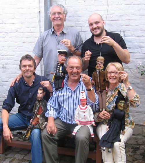 De nieuwe ploeg in juli 2010