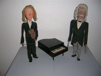 Prof. Snaar en prof. Noot