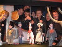 De spelersploeg in maart 2003