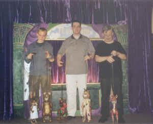 """De spelersploeg van """"Vossenstreken"""" in 2002"""